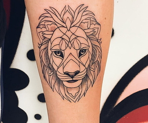 arm, beast, and ink image