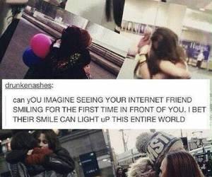 friends, internet friends, and friendship image
