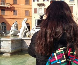 cloud, rome, and tourist image