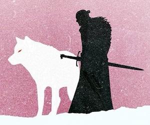 background, Jon, and snow image