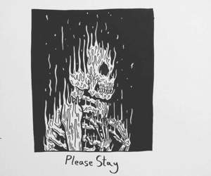 art, alternative, and skeleton image