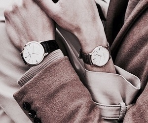 watch, fashion, and beige image