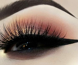 eyeliner, make up, and perfect image