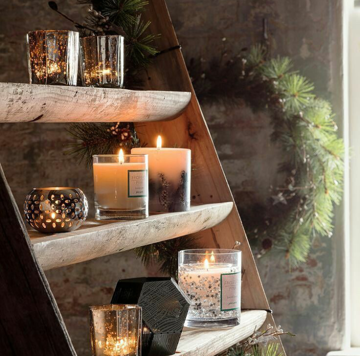 candle, decoration, and home image