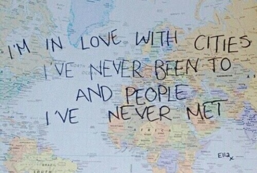 love, world, and city image
