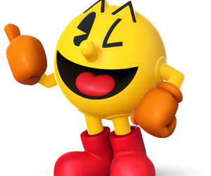 pacman, ps, and video game image