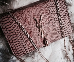 bag, YSL, and luxury image