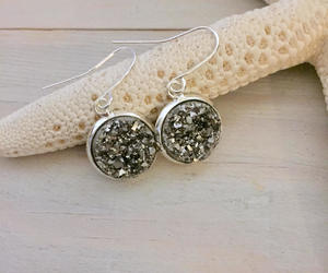 etsy, bridesmaid earrings, and sterling silver image