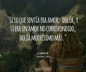 frases, frases de amor, and wattpad image
