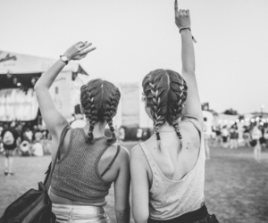 festival, looks, and music image