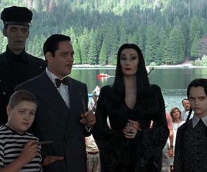 addams family, gomez addams, and Morticia Addams image