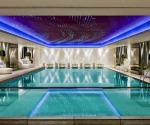 luxury, pool, and swimming pool image