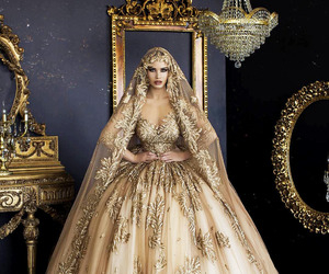 aesthetic, art, and bride image