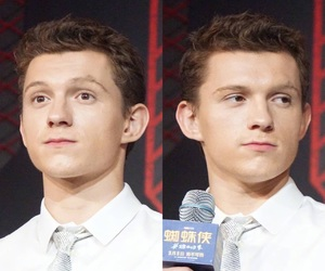 homecoming, spider-man, and tom holland image