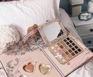 makeup, fashion, and pink image