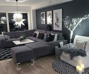 home, living room, and design image