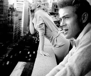 Marilyn Monroe, james dean, and black and white image