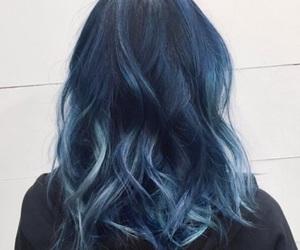 art, beautiful, and bluehair image