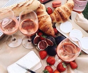 food, wine, and delicious image