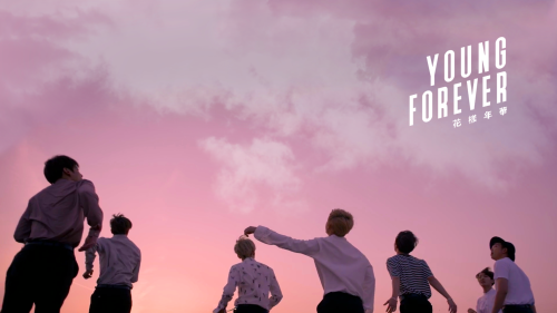 young forever, bangtan, and bts image