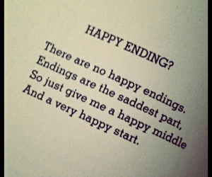 Thoughts about a happy ending