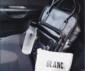 black, fashion, and bag image