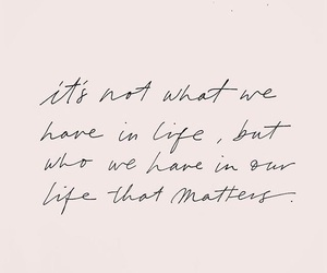 life, quote, and what matters image