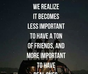 friends, quotes, and real image