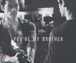 black and white, brother, and stiles image
