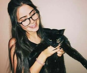 girl, cat, and jade picon image