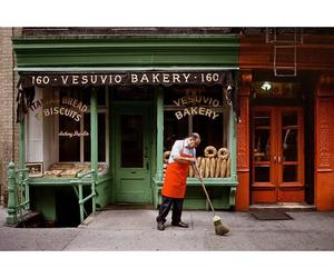 bakery, street photography, and colors image