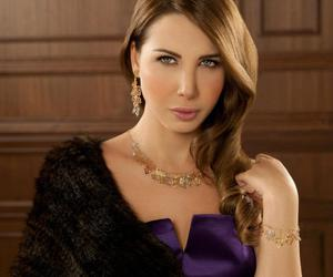 nancy ajram, photo-shoot, and damas jewellery image