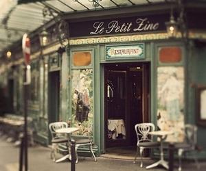 paris, cafe, and vintage image