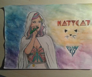 drawing, katy perry, and prismatic world tour image