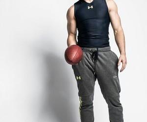 football, christian mccaffrey, and hot guy image