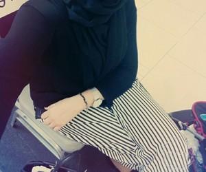 muslim girl, hijab fashion, and hidjab image