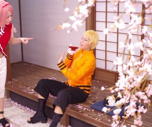 cosplay, naruto, and sakura image