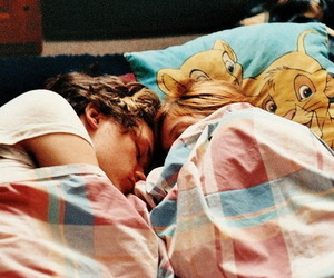 couple, Harry Styles, and sleep image