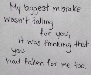 love, quotes, and mistakes image