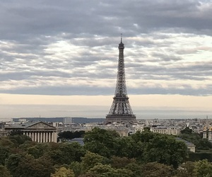 eiffel tower, paris, and view image