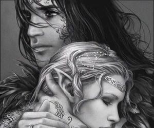 fantasy, art, and couple image