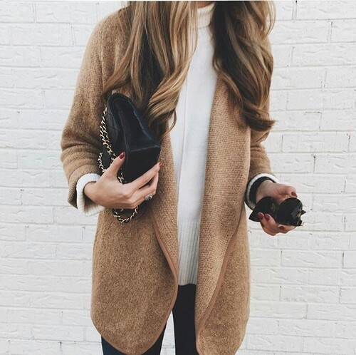 autumn, style, and chic image