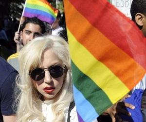 Lady gaga, gay, and lesbian image