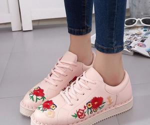 rose, aesthetic fashion, and shoes image