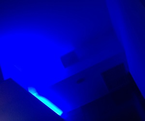 aesthetic, blue, and electric image