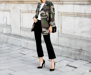 clothes, outfit, and street style image