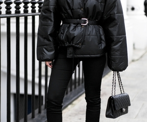 black, bag, and classy image