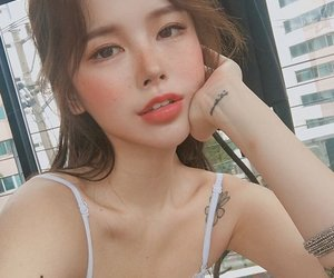 asian, girl, and korean girl image