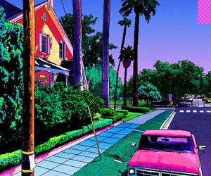 art, pixel, and aesthetic image