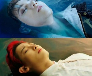 exo, sleep, and baekhyun image